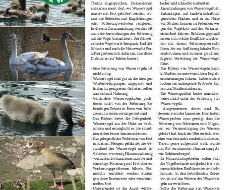 Naturwacht Beitrag in der Jagdzeitung Mai-Juni